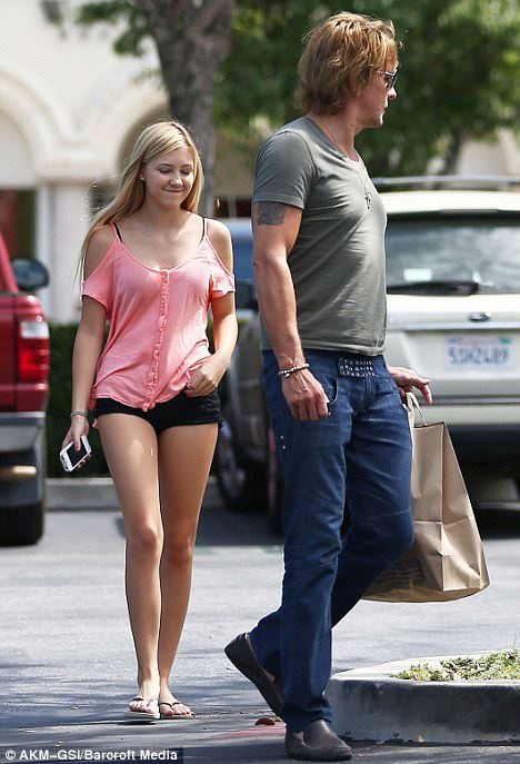 richie et ava le 3 septembre en shopping