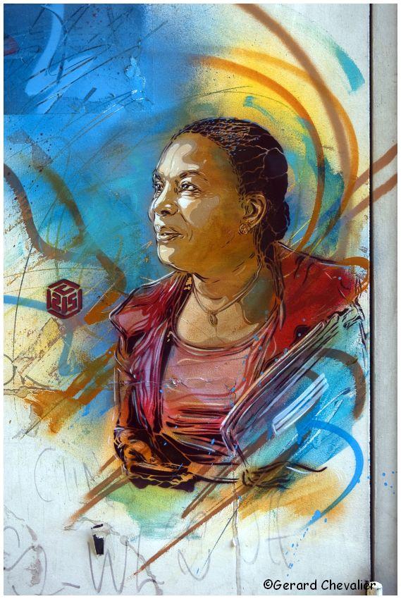 Vitry-sur-Seine - Street Art. #3 - C215
