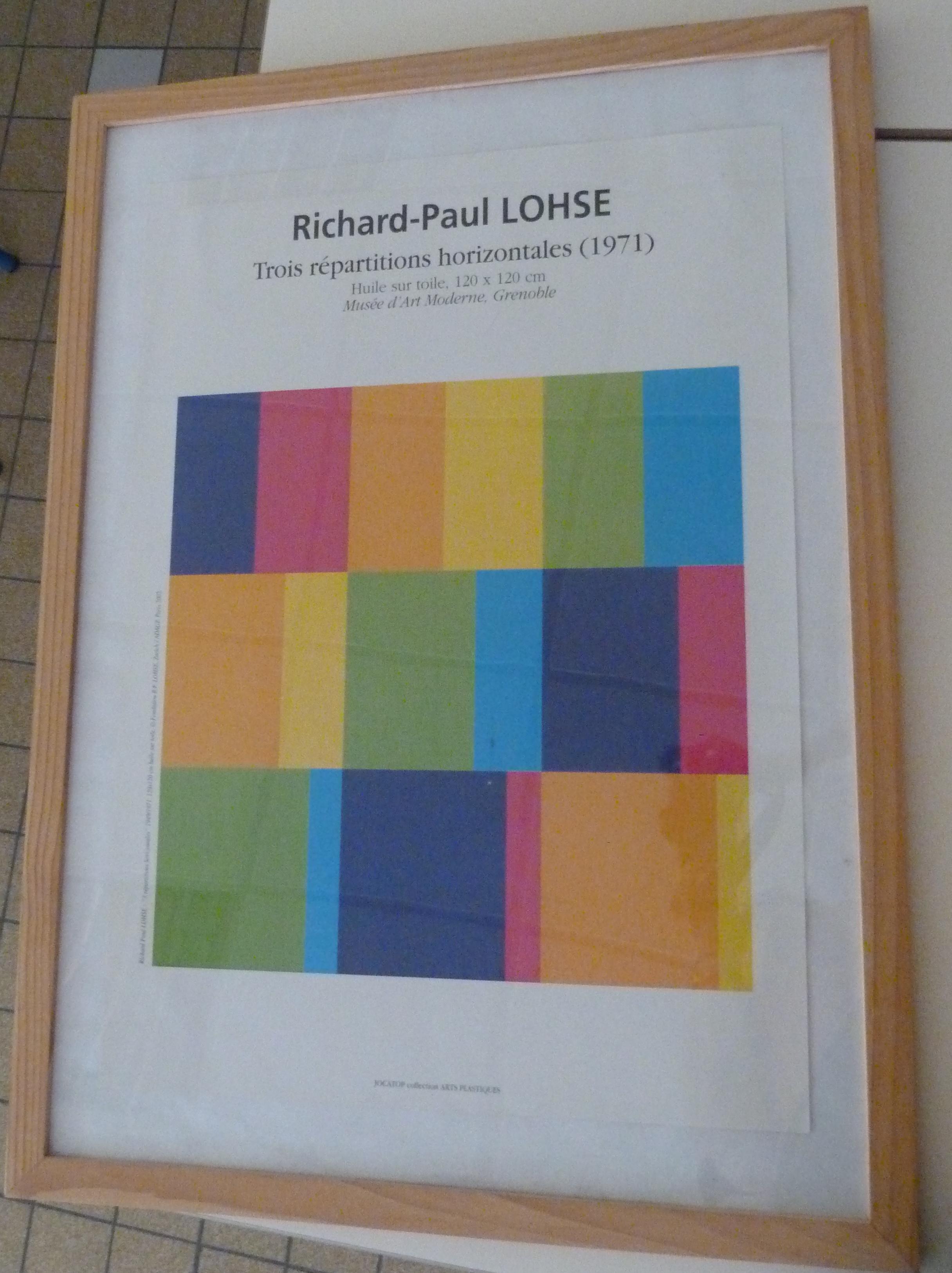 Richard paul lohse bilder for Abstraction geometrique