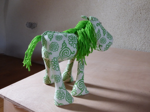 Un petit âne vert....