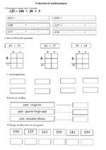 les nombres, en lettres, en chiffres, CP, CE1, CE2