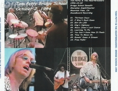 En V'là du live! Jour 6 : Tom Petty - Bridge School Benefit - 2 octobre 1994