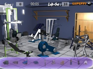 Find the objects in gym