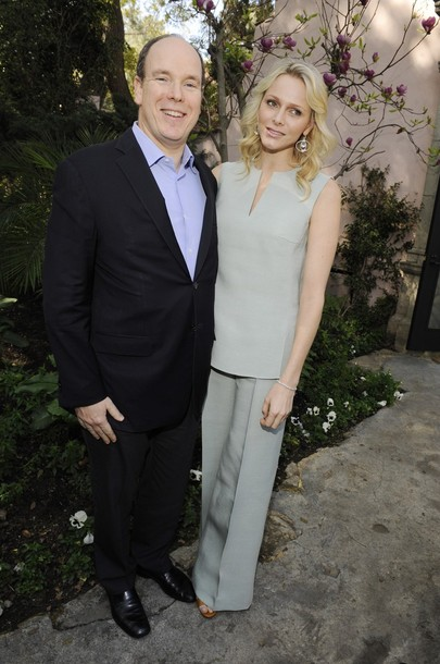 Charlène et Albert à Los Angeles