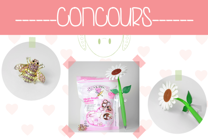 Concours Magic Octopus lot girly food accessoires
