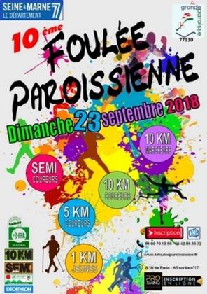 """10 eme """"Foulée Paroissienne"""""""