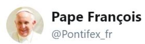 Les trois derniers tweets du Pape François