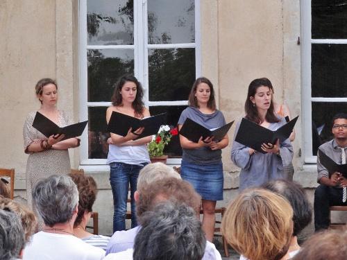 """Un magnifique concert de """"la Semaine Musicale de Saint Vorles"""" au château Marmont de Châtillon sur Seine..."""