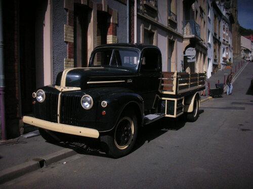 voiture ancienne du film...