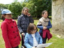 Sortie scolaire au parc de Branféré