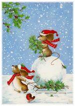 Bientôt Noël même chez les souris