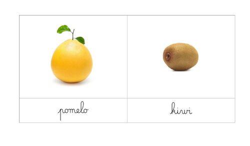 [Nomenclatures ]Fruits et légumes de saison