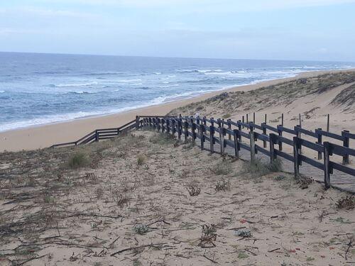 La côte à Messanges