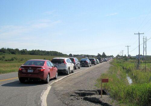 """Route du terroir """" La Motte, Abitibi, Québec """""""