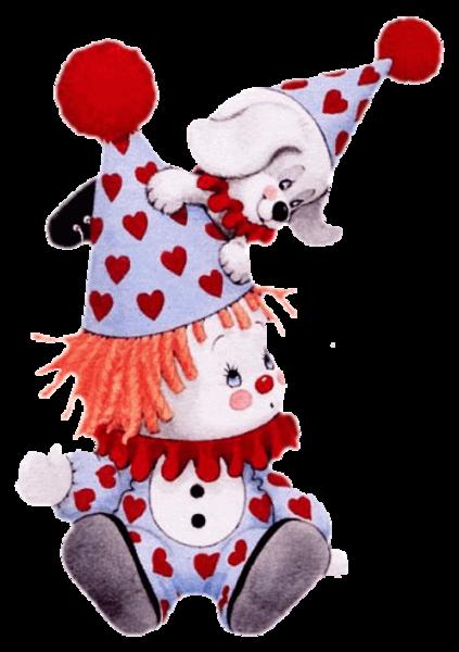 les clowns !