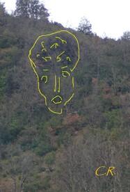 Les émanants : Les visages humains