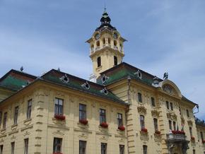 Szeged, hotel de ville