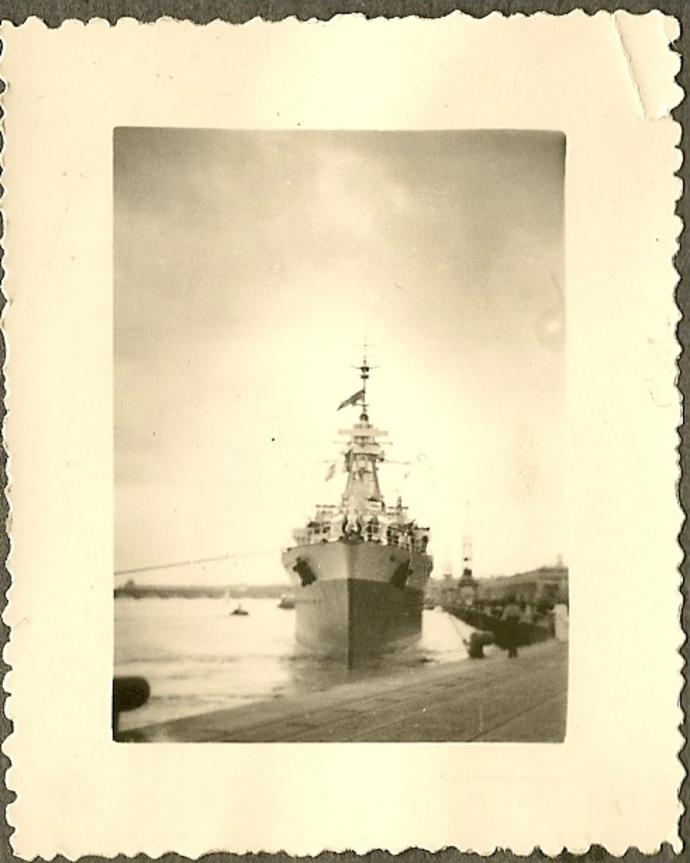 Port de bordeaux - Année 1950