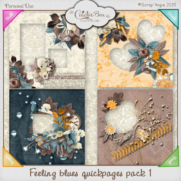 Feeling blues de Scrap' Angie