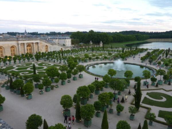 Grandes eaux nocturnes Jardin à la française