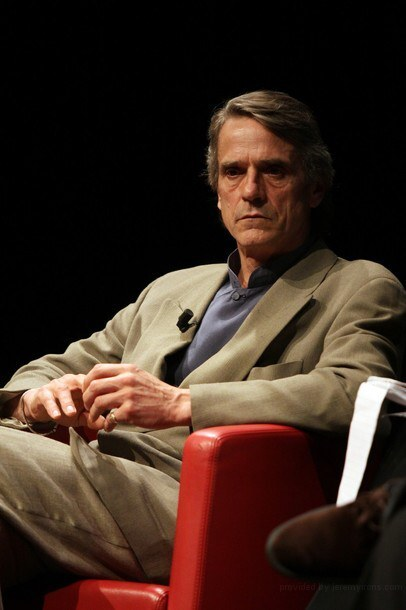 Images of Jeremy Irons at the International Rome Film Festival
