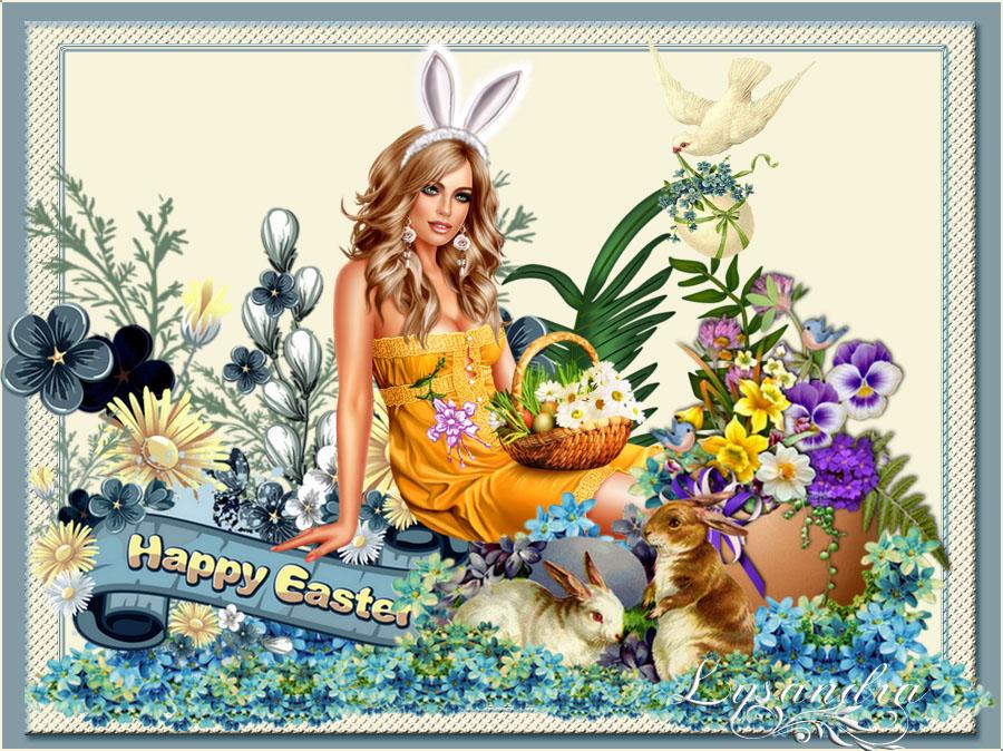 Bonnes fêtes de Paques a tous et a toutes..