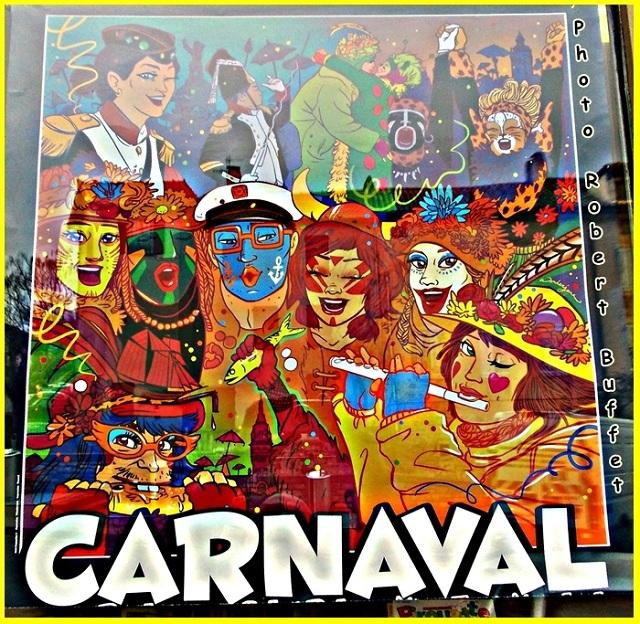 Carnaval n'est pas arrivé....