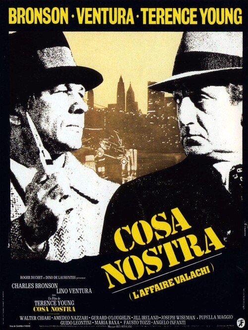 COSA NOSTRA - BOX OFFICE LINO VENTURA 1972