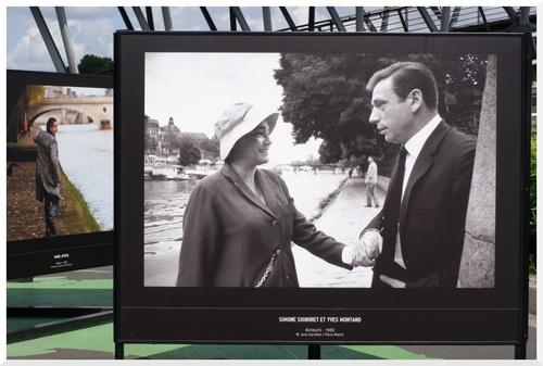 Berges de Seine. Exposition Photos.