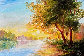 La rivière ...