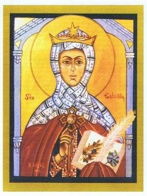Sainte Estelle de Saintes. Vierge (3ème s.)