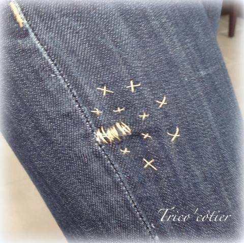 Réparation du jean's