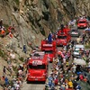 Caravane publicitaire du Tour de France, cadeaux et animations