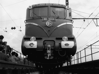 Le record de vitesse de la locomotive électrique BB 9004