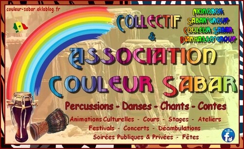 ASSOCIATION & COLLECTIF - COULEUR SABAR ©