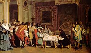 Louis XIV Moliere JeanLeonGerome