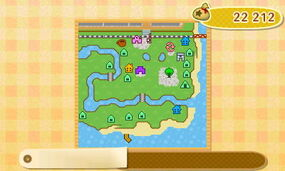 La carte de sa ville