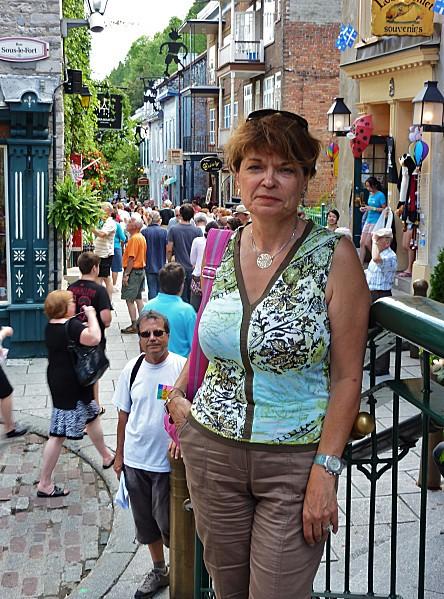 Québec escalier Casse-cou Martine b