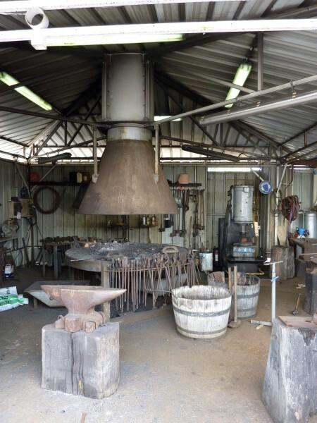 L'atelier de ferronerie