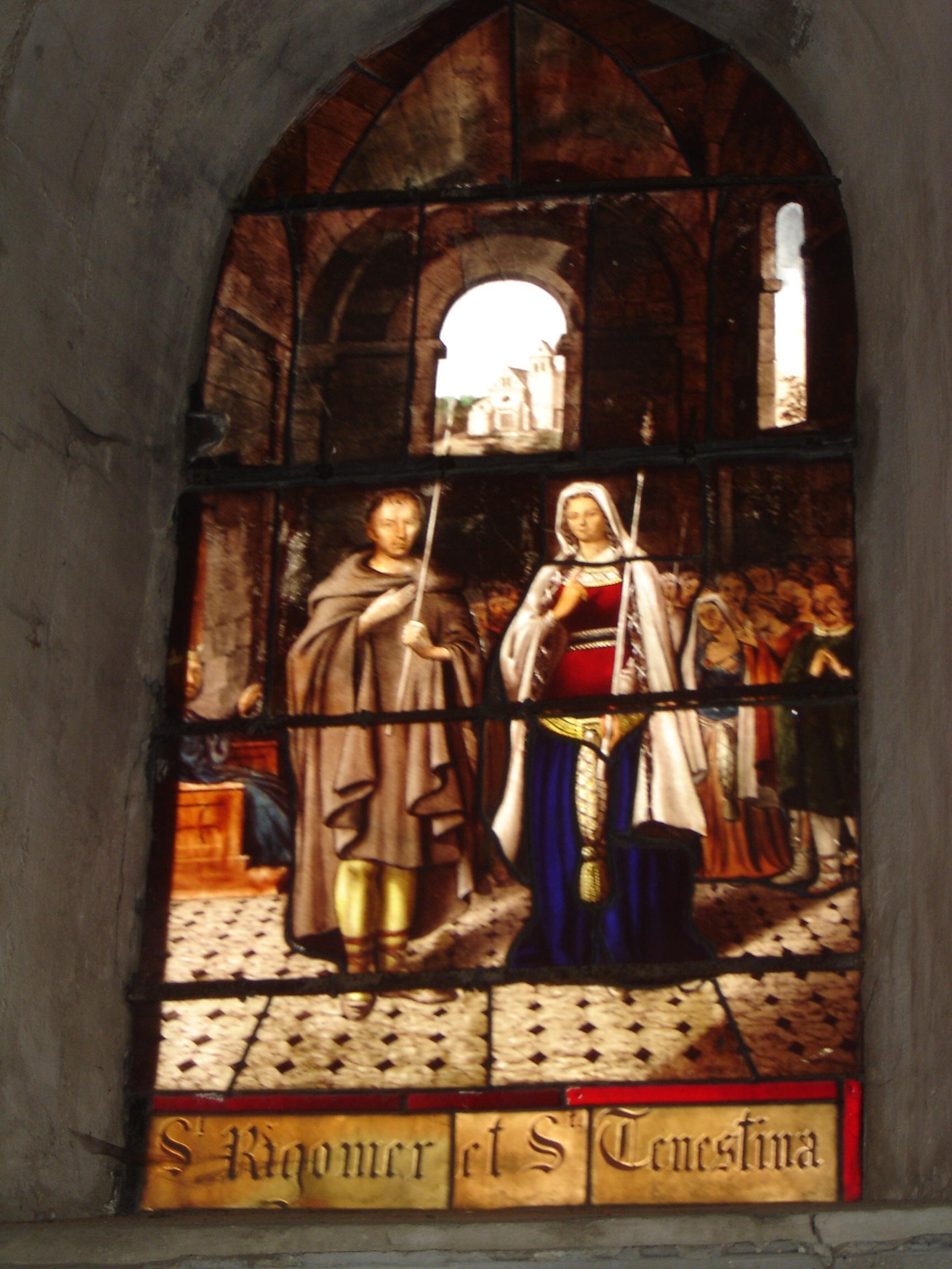 Saints Rigomer et Ténestine (6ème s.)
