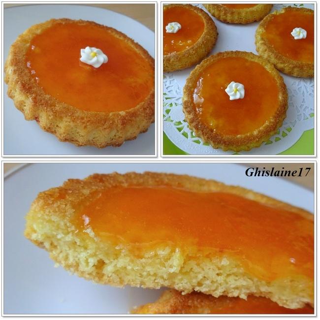 """Tartelettes """"palet breton"""" à la confiture d'abricots"""