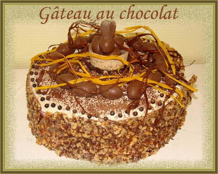 Recette de cuisine : Gâteau au chocolat