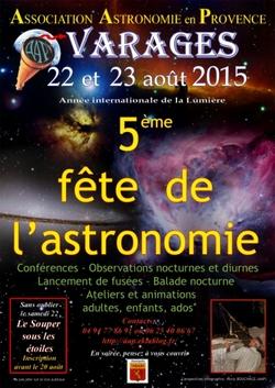 La fête de l'astronomie 2015