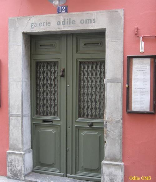 Galerie Odile OMS à Céret.