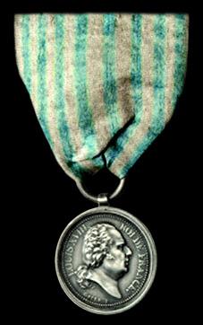 Médailles des volontaires royaux....