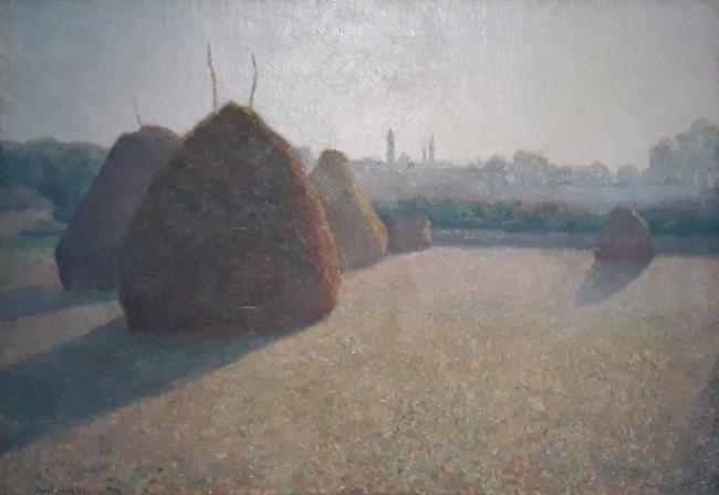 Visite au musée des impressionismes à Giverny