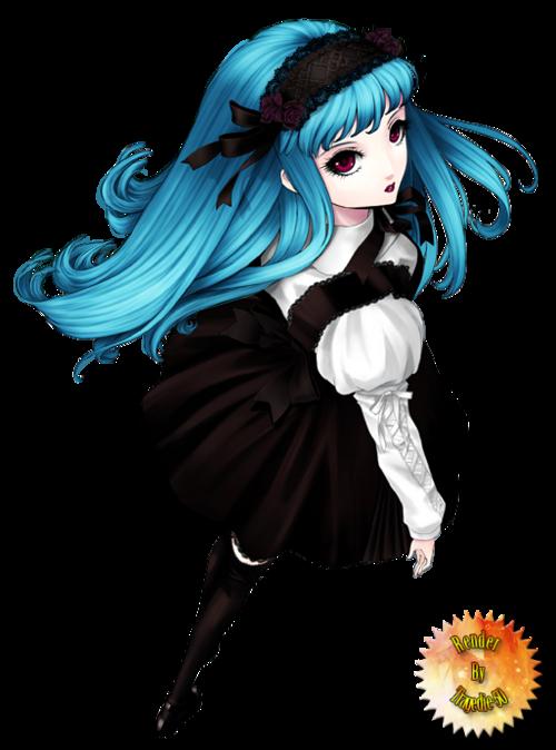 Render - Manga Girl [34]
