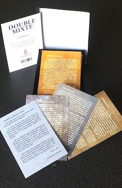 """""""Double Mixte"""", les coffrets de cartes postales littéraires made in JFE"""