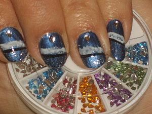 nail art étoile polaire 013