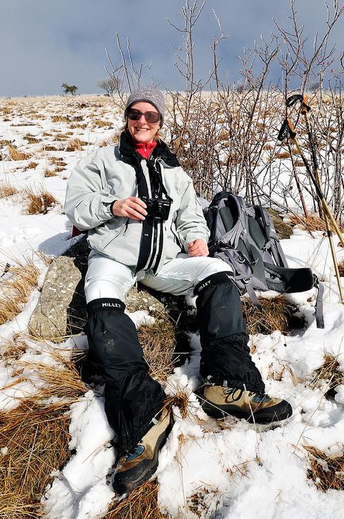 Course hivernale au Veyou